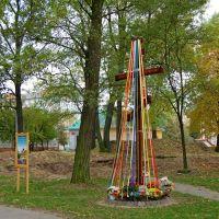 Городской сквер-строительство новой церкви..., Владимир-Волынский