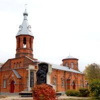 Георгиевская церковь-типичный военный храм,построен в 1908г,для 149 Черноморского полка(т.н.Брусиловские казармы), Владимир-Волынский
