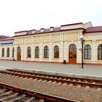 Железно-дорожный вокзал во Владимире-Волынском., Владимир-Волынский