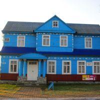 Деревянный домик месного Ст., Голобы