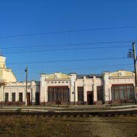 Железнодорожный вокзал в с.Голобы.1903г.,памятник градостроительства., Голобы