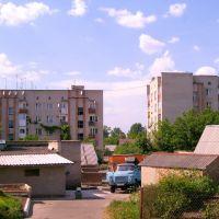пятиповерхівки на Луцькій,  вид зі двору, Горохов