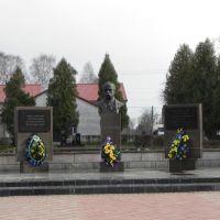 Центр, памятник Т. Г. Шевенко, Иваничи