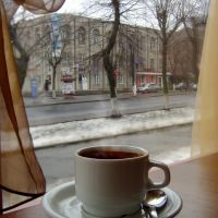 "Березнева сльота. Кавярня ""У свата""_March slush. Cafe ""U svata"", Ковель"