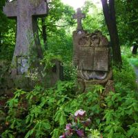 Cmentarz w Kowlu-polskie groby/Cemetery in Kovel-Polish tombs, Ковель