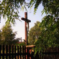 Krzyż przy Kościele św.Anny w Kowlu/Cross at st.Anns church in Kowel, Ковель