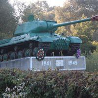 A tank as a monument, Локачи