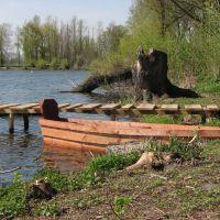 Човен на ставку, Локачи