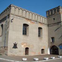 Луцьк - колишня оборонна синагога, ex-synagogue, бывшая оборонительная синагога 14 ст.-1629, Луцк