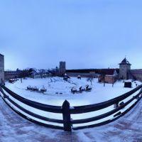 панорама замку Любарта 01.2011, Луцк
