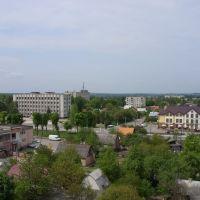 Нововолинськ вид з колеса огляду 2, Нововолынск