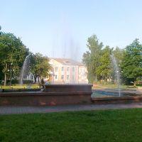 fontanna -Nowowołyńsk, Нововолынск