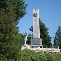 Меморіал у Турійську, Турийск