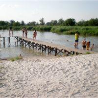 Водохранилище, пляж, Апостолово