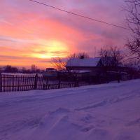 Вечерние пейзажи Красноармейской, Брагиновка