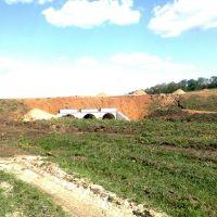 строительство моста на блок, Брагиновка