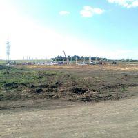 строительство подстанции для блока, Брагиновка