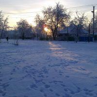 Зима, Брагиновка