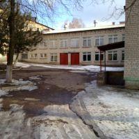 школа №2 вид со двора, Верхнеднепровск