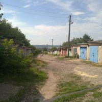 гаражи возла второй школы, Верхнеднепровск
