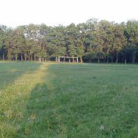 Стадион возле первой школы, Верховцево