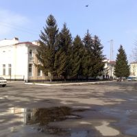 Привокзальная площадь, Верховцево
