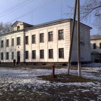 Школа №2 (вид со двора), Верховцево