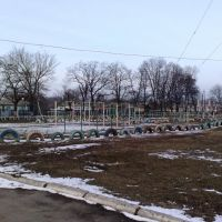 Спортивная площадка СШ № 1, Верховцево