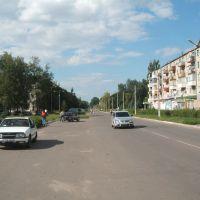 Lenin Street into Town, Вольногорск