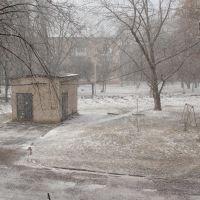 """зима """"первый снег"""" 18 январь 2012, Вольногорск"""