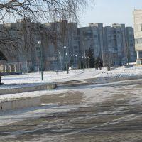 Вид на жилой комплекс, Вольногорск
