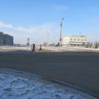 крест ул.Ленина и бульвар Мира(Проспект в никуда), Вольногорск
