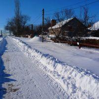 снег, Горняцкое