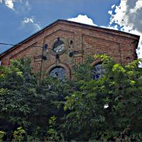 Здание старой мельницы в В.Тернах, Горняцкое