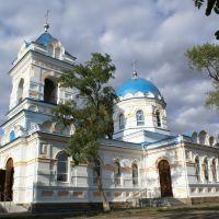 Saint Nicklolai Church in v.Vyazovok, near Pavlograd, Dnepropetrovsk Region, Демурино