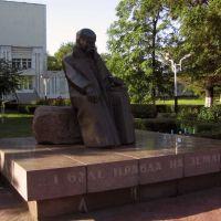 2009.06.21 памятник Т.Г.Шевченко, Днепродзержинск