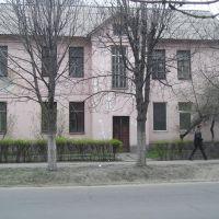 Дом, в котором жил Л.И.Брежнев, Днепродзержинск