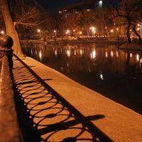 Дремлющий парк. Узоры ночи... Днепропетровск. Парк Л.Глобы (в прошлом Парк В.П.Чкалова) -  Dnepropetrovsk. Globas Park (former Chkalovs Park) - 2 :), Днепропетровск