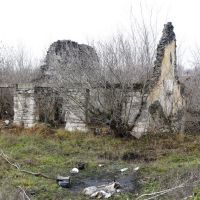 Разваленное здание, Желтые Воды