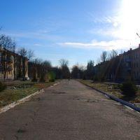 Ул. Богдана Хмельницкого (вид в сторону стадиона), Желтые Воды