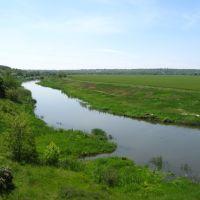 Криворіжжя, річка Інгулець., Ингулец