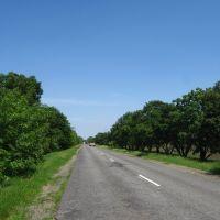 Дорога Кривий Ріг-Інгулець, Ингулец