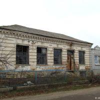 Дореволюційна будівля магазину на колишній вулиці Шпигельгасс в єврейській колонії Інгулець, 2012, Ингулец