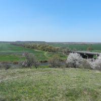 Река и мост, Ингулец