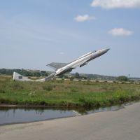 Самолет Памятник, Кринички, Кринички