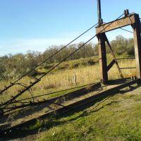 Мост через речку Томаковку, Марганец