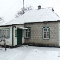 Хатынка бабушки Маруси зимой, Межевая