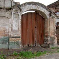 Старые ворота_Old gate, Никополь