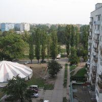 Вид из окна, Новомосковск