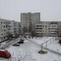 Мой двор зимой, Павлоград